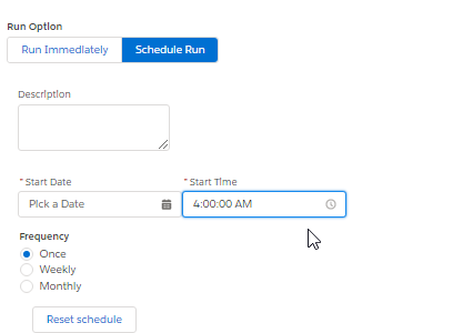 AppOps Test Schedule Test Case